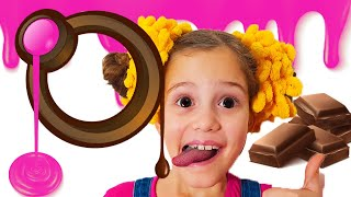 Шоколадное приключение и другие веселые истории с Элей и Димой! Дети попали в игру! Ба Би Бу песенки