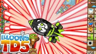 RAYS OF DOOM OVERPOWERED CHALLENGE! - BLOONS ...