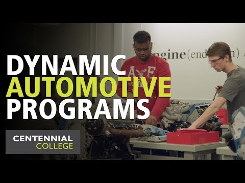 Centennial College: Automotive