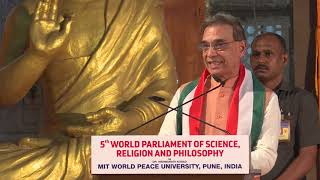 Session 3- Speech By Speaker- Dr. Satya Pal Singh (Retd. IPS) at 5th World Parliament