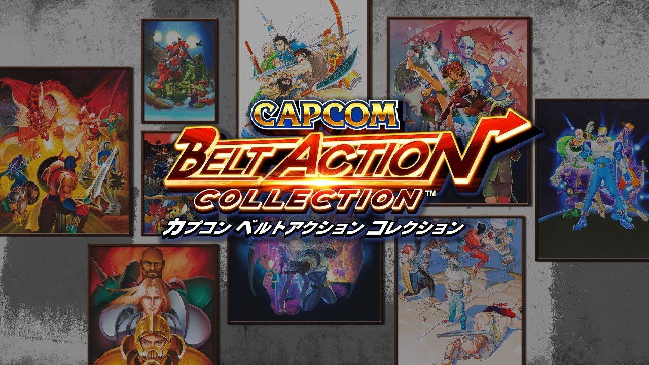 PS4『Capcom Belt Action Collection』宣傳影片