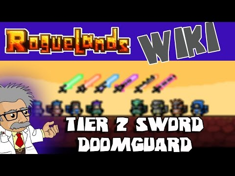 ROGUELANDS WIKI - DOOMGUARD Sword | Roguelands Tutorial | How to Craft the Tier 2 Sword - DOOMGUARD