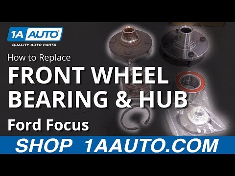 How to Replace Wheel Bearing & Hub 00-04 Ford Focus