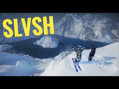 GAME OF SLVSH in Steep! (SKATE ON SNOW) | STEEPSTEEP VS JOSH