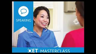 OET Speaking Section Overview