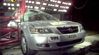 Краш тест Hyundai Sonata 2006 (E-NCAP)