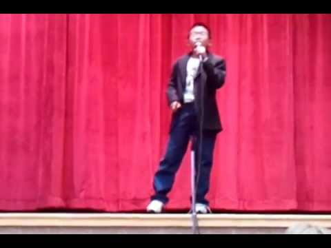 Roniel Rian- OPEN ARMS-Alamosa Elementary School Talent Show (May22,2012)