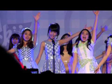 [FANCAM] JKT48 - Sakura no Hanabiratachi  at Gingham Check HS Festival 141004