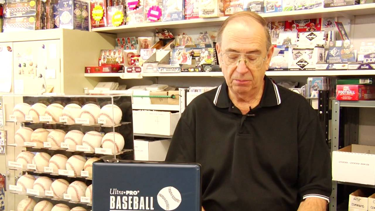 Card Autograph Collecting How To Display Baseball Trading Cards