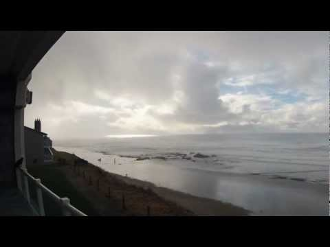 Oregon Coast - Lincoln City Time Lapse