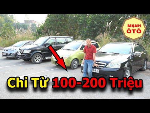 Xe Ô Tô Cũ 5-7 Chỗ Từ 100 - 200 Triệu Đáng Mua 2021 - Mạnh Ô Tô