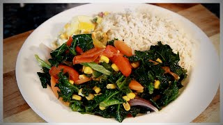 MEAT FREE MONDAY QUICK STEAMED VEGETABLES DISH WITH RICE | + VEGETABLE SOUP  #MEATFREEMONDAY 2020