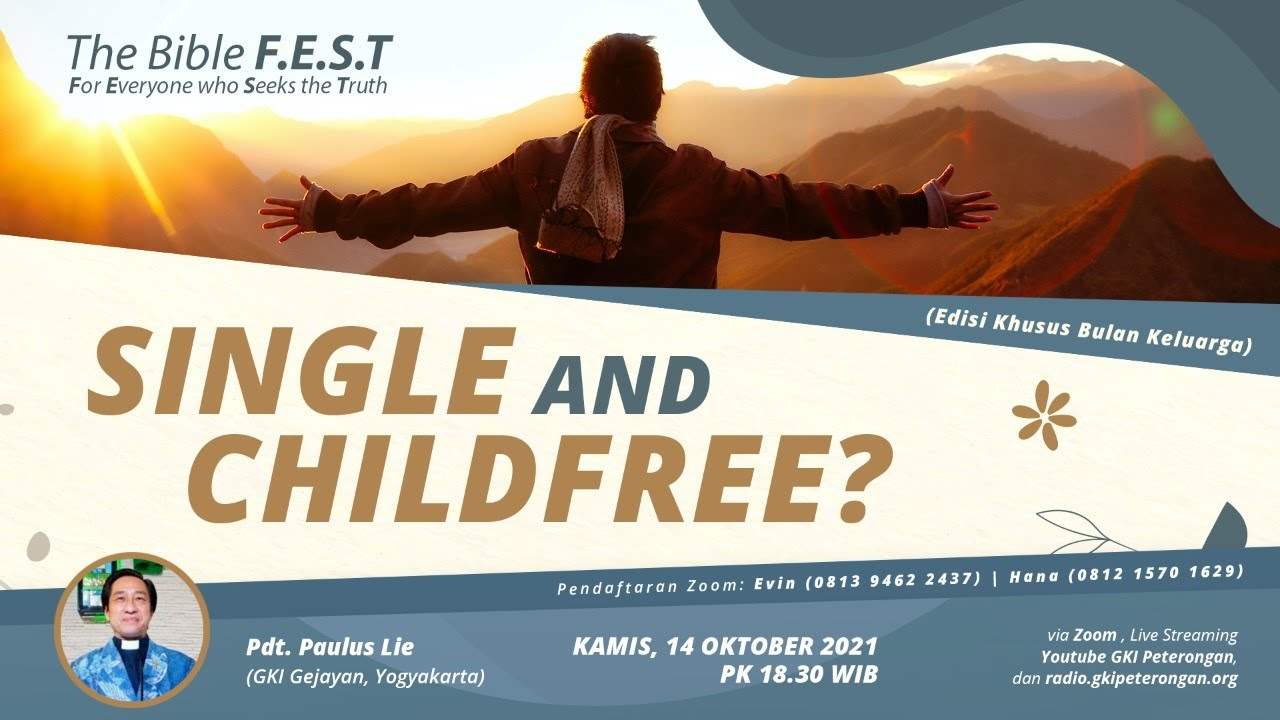 """Download The Bible F.E.S.T. - """"Single & Childfree?"""""""