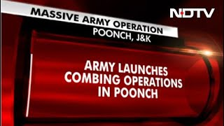Massive Army Op In J&K As Soldiers Go Missing During Encounter