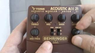 Behringer ADI21 TEST Guitarra Clásica