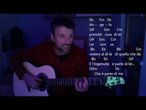 Angelo di  Renga Cover by Mandu Con Accordi