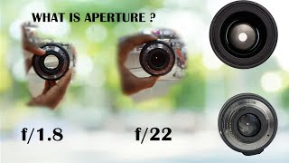 Aperture photography definition || how its works - tutorial in hindi