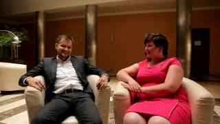 Смешное свадебное интервью