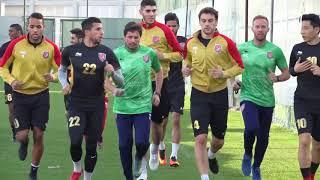 تدريبات الدحيل استعداداً للقاء ذوب آهن الإيراني في الجولة الأولى لدوري أبطال آسيا