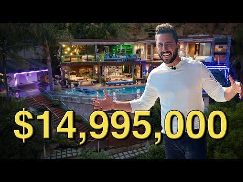 INSIDE a $15M PARTY HOUSE | JOSH ALTMAN | REAL ESTATE | EPISODE #73