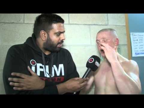 KIERAN FARRELL INTERVIEW FOR iFILM LONDON / FARRELL v NESBITT / NO ...