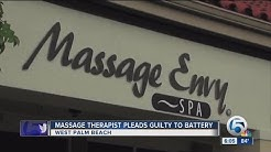Former massage therapist pleads guilty to inappropriately touching client in West Boca