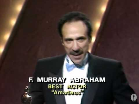 F. Murray Abraham winning Best Actor