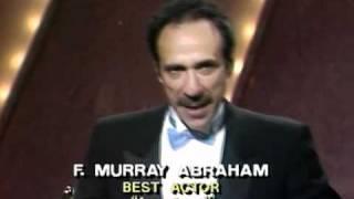 F. Murray Abraham winning Best Actor