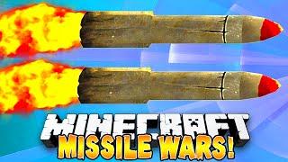 Minecraft - MISSILE WARS! (Minecraft Missile Explosions!) w/Preston, Vikkstar & Pete!