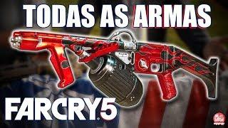 FAR CRY 5 - MOSTRANDO TODAS AS ARMAS DO JOGO || ARSENAL INCRÍVEL!