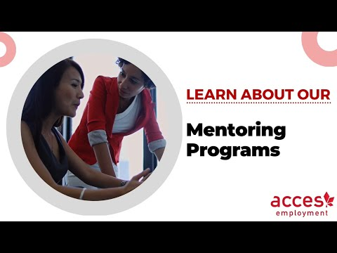 Mentoring Programs at ACCES