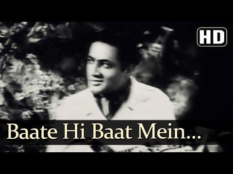 Baate Hi Baat Mein | Dupatta Songs | Noor Jahan | Ajay Kumar | Playful | Filmigaane