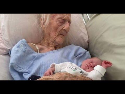 Bà mẹ già nhất lịch sử 101 tuổi Anatolia Vertadella