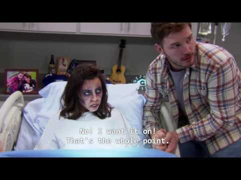 April Ludgate in Labor