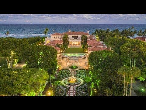$135,000,000 Amazing Italian Renaissance Style Mega Mansion in Palm Beach Florida