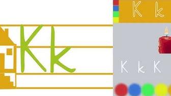 """Der Buchstabe """"K"""" im Anfangsunterricht"""
