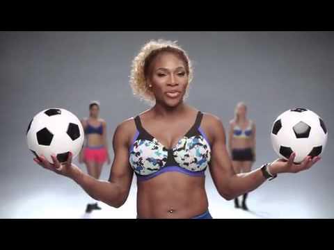 81af7f4a1c4a2 Serena Williams stars in Berlei bra... - YouTube