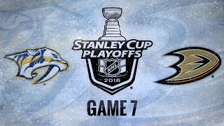 Rinne shines in Game 7, Preds advance to second round