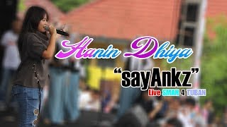 Hanin dhiya Sayang by.Via Vallen || Live SMAN 4 TUBAN 15 November 2017
