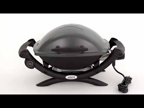 464f06bf45e Weber® Q® 1400 Portable Electric Grill - YouTube
