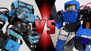 ROBOT DEATH BATTLE! -  BLASTER Super Anthony VS Leo 28 (ULTIMATE ROBOT DEATH BATTLE!)