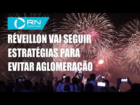 Réveillon do Rio vai seguir estratégias para evitar aglomeração