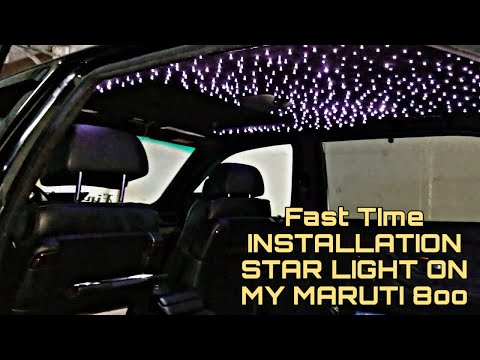 FiNALLY BOUGHT STAR LIGHT FOR MY MODIFIED MARUTI 800 FROM KAROL BAGH 🔥