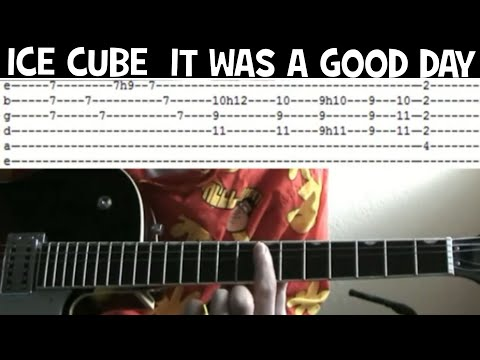 Ice Cube It Was a Good Day tab chords Isley Brothers Footsteps in the dark guitar lessons online