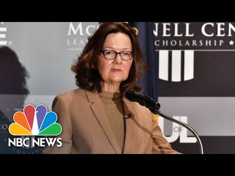 CIA Director Gina Haspel Comments On Agency's New Direction   NBC News
