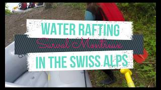 Water Rafting in the Swiss Alps