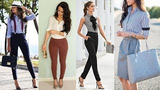 50 Stylish Casual Work Outfits for the Office | Classy outfits, Fashion clothes, tendency 2019