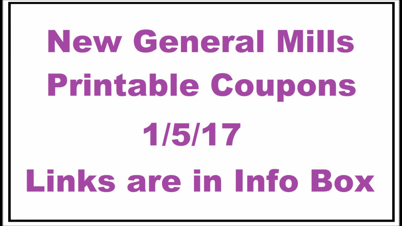 photo relating to Famous Dave's Printable Coupons known as Overall Mills Cereal $0.69 at Safeway!