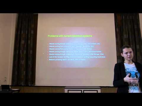 "Joanna Rutkowska: ""Qubes OS: towards reasonably secure & trustworthy personal computing"""