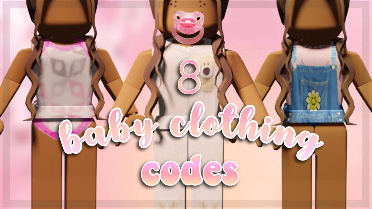 Aesthetic Baby Clothing Codes For Bloxburg Roblox Youtube